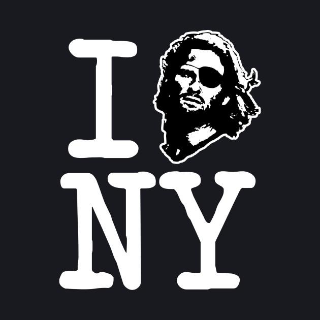 I Snake NY - Dark Shirt