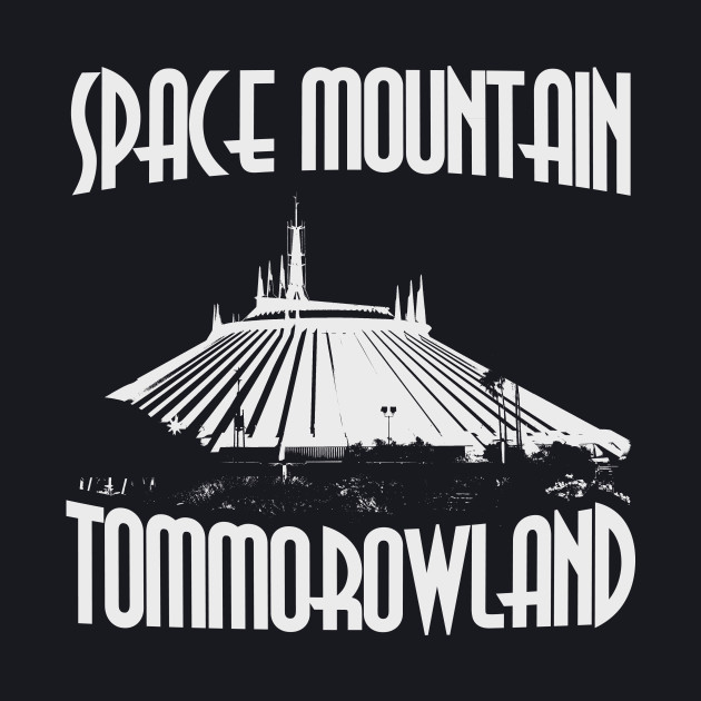 Space Mountain Attraction - Light Variant