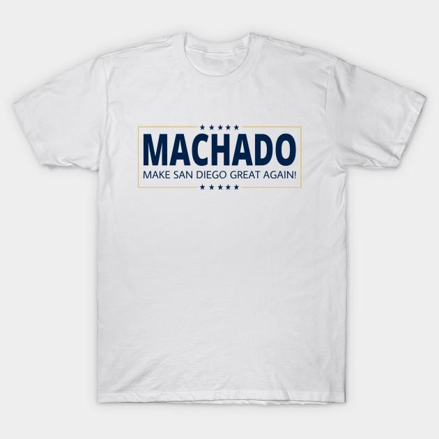 timeless design a3514 3f658 Padres MAGA Manny Machado (white)