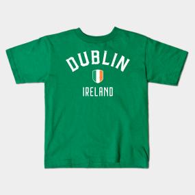 Dublin Ireland Kids T-Shirts | TeePublic