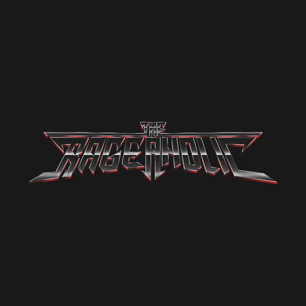 The Rageaholic Logo (Gunmetal)
