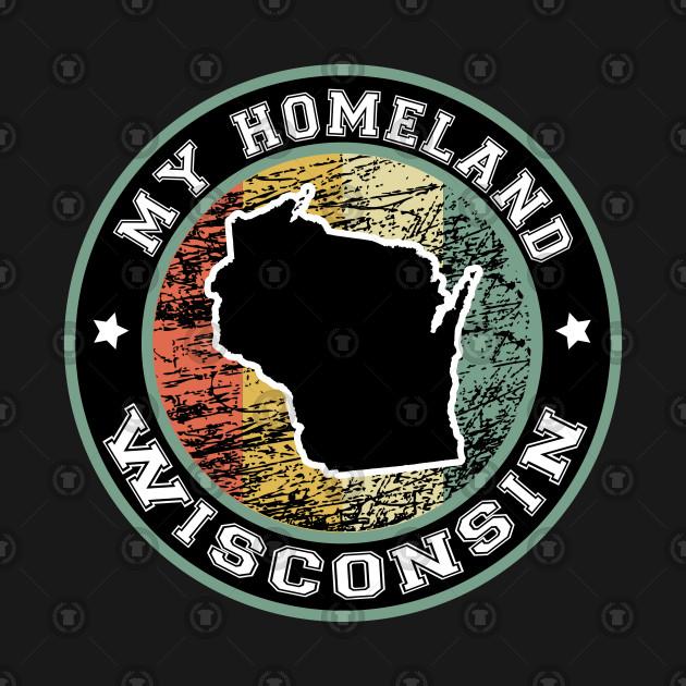 Homeland Wisconsin state USA vintage