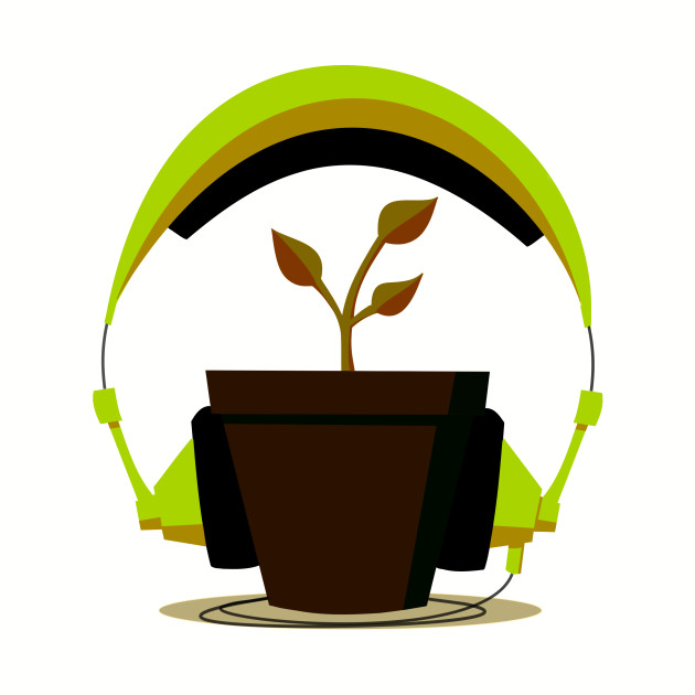 Plants need music too