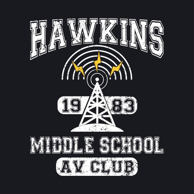 Stranger Things Tee - Hawkins AV Club