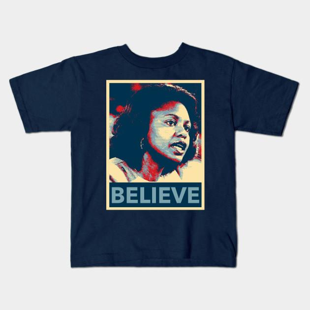 655dfbe55 Anita Hill Believe - I Believe Anita Hill - Kids T-Shirt | TeePublic