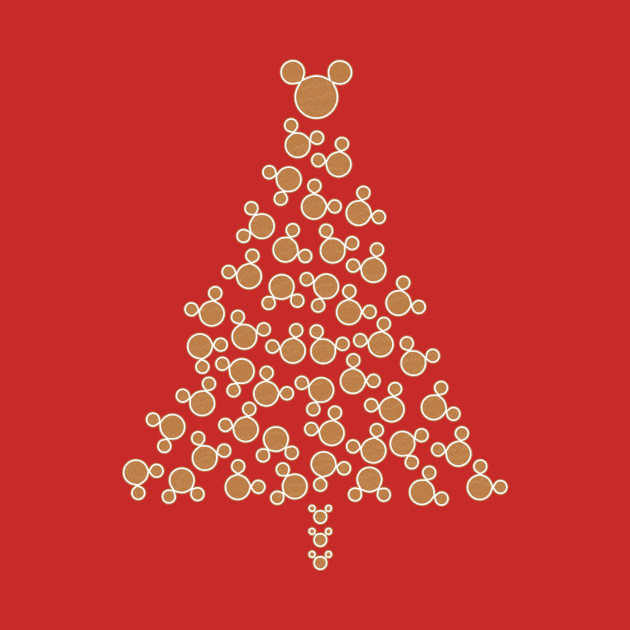 Mickey Mouse Gingerbread Tree