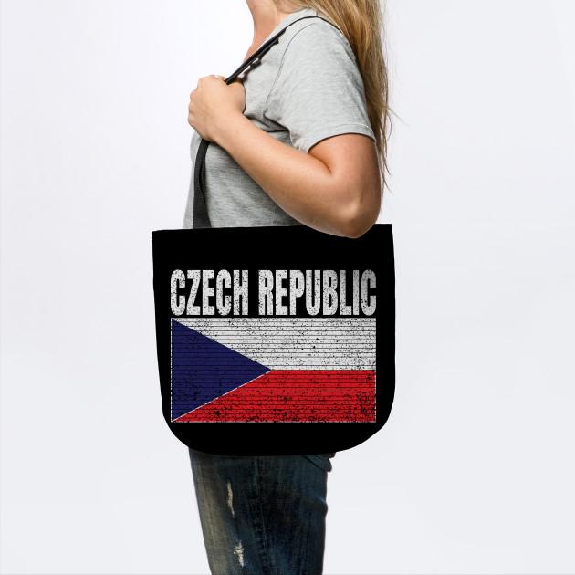 Czech Republic Country Flag Vintage Czech Gift
