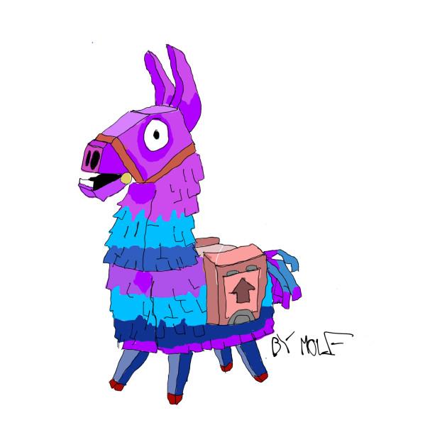 Fortnite llama llama t shirt teepublic - Lama pictures fortnite ...