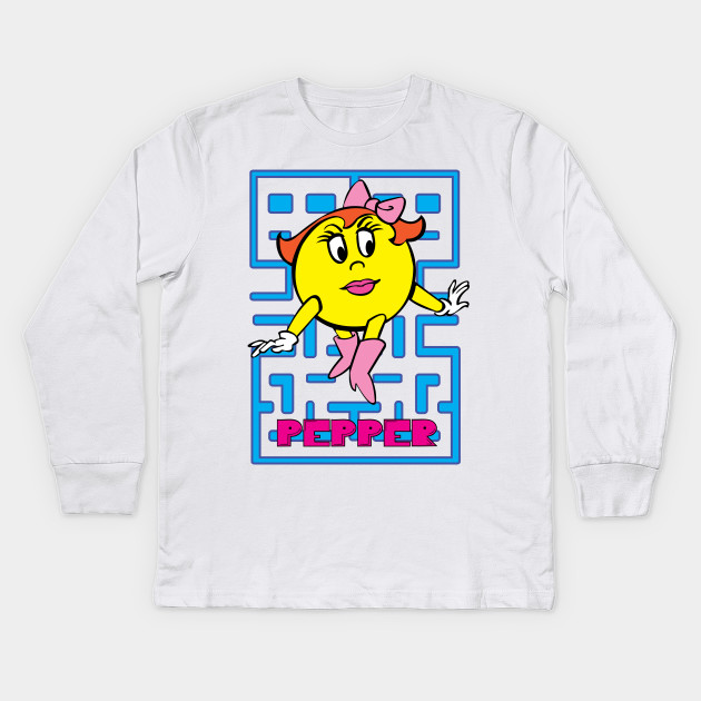 adfe9c3b Ms.Pac-Man - Mspacman - Kids Long Sleeve T-Shirt | TeePublic