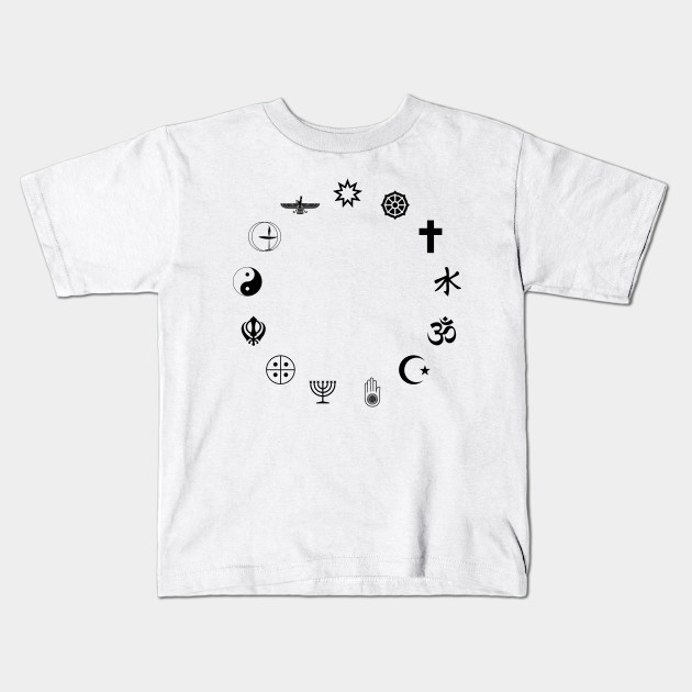 Limited Edition Exclusive World Religious Symbols Silhouette