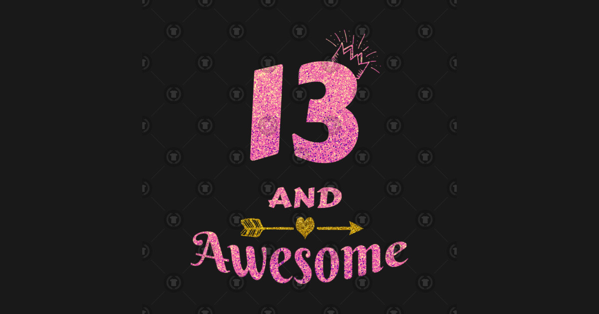 13th Birthday Gift For Girl 13 And Awesome Girls Gifts Tapestry