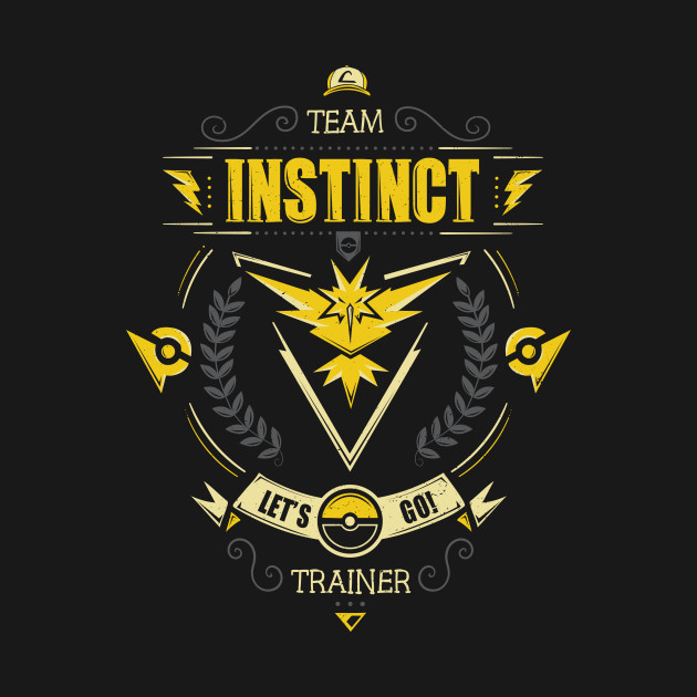 Let's go! Team instinct