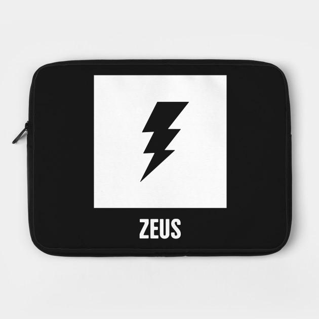 Zeus Greek Mythology God Symbol Laptop Case Teepublic