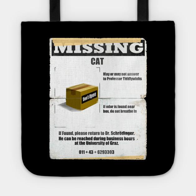 Schrödinger's Missing Cat