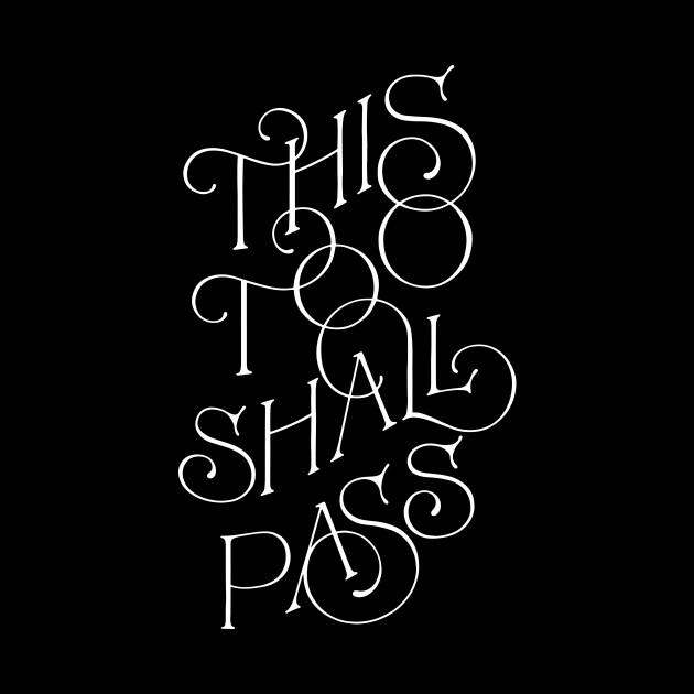 This Too Shall Pass (bw) by noviajonatan