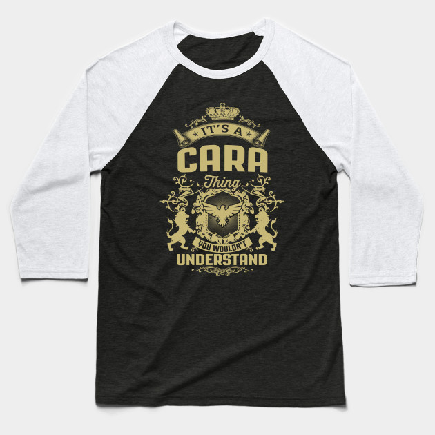 Its A CARA Thing You Wouldnt Understand