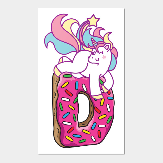 Unicorn & donut
