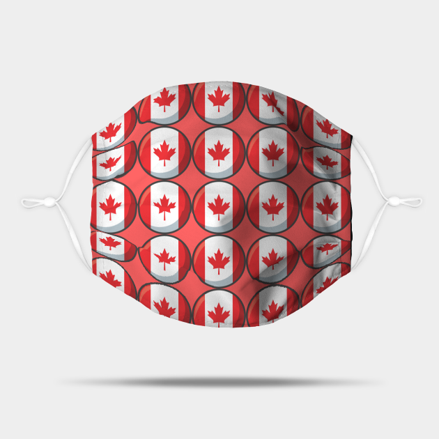 Canada National Flag Pattern