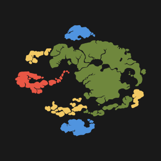 Map Of Avatar World T-Shirts | TeePublic