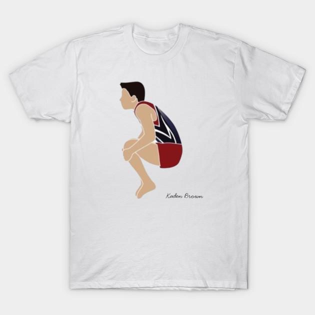 322891af2ad9c Cartoon Male Gymnast w/ Name