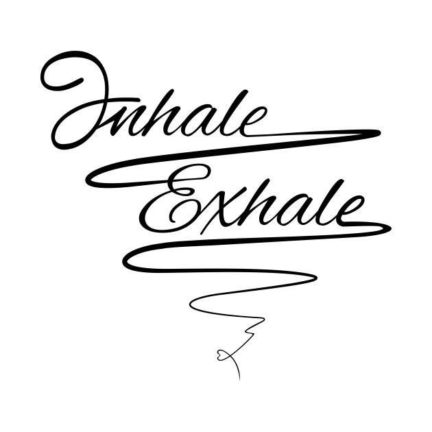 Love Yoga - inhale exhale - Zen T-shirt