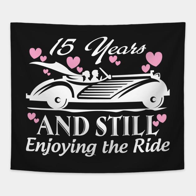 Anniversary Gift 15 Years Wedding Marriage Anniversary Tapestry