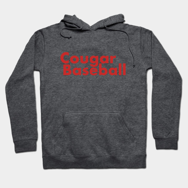 333c561206f Cougar Baseball - University Of Houston - Hoodie | TeePublic
