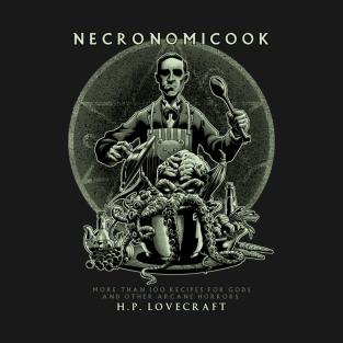 Necronomicook t-shirts