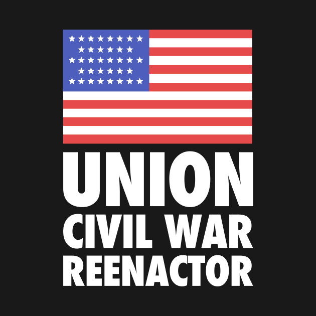 Historical American Civil War Reenactor Union