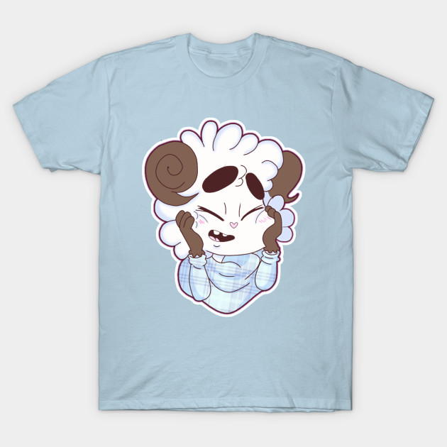 008f1b90 Happy Sheep - Happy - T-Shirt | TeePublic
