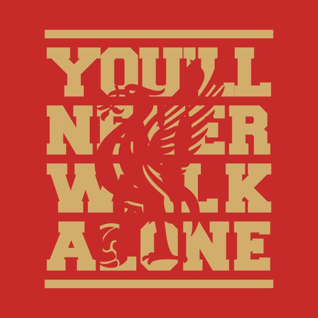 97d258ff7 LFC - Youll never walk alone - Liverpool Fc - Mug
