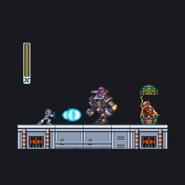 Megaman X Vile fight