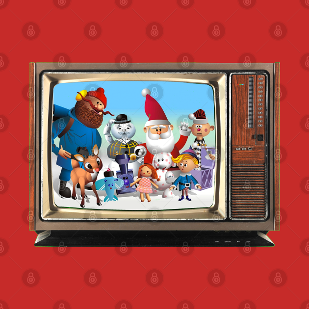 Rudolph Gang on a Vintage TV