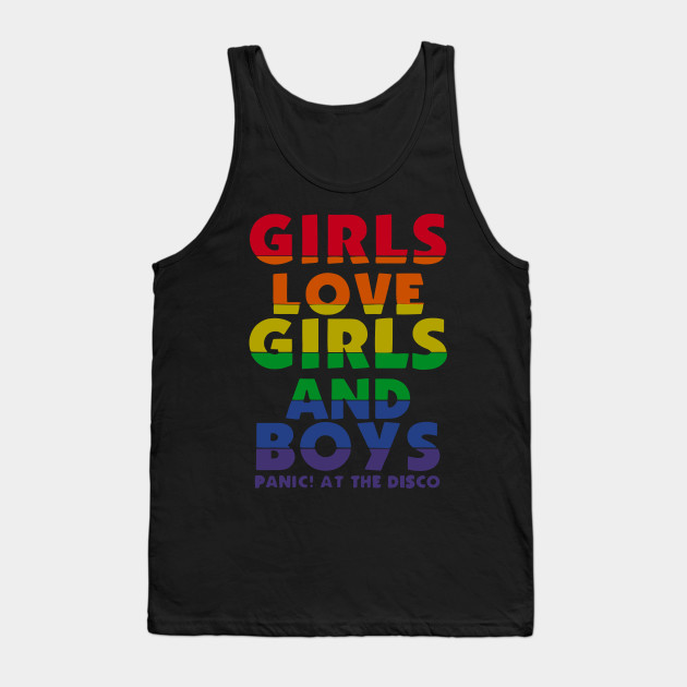 9c2ff6f4264 Girls Love Girls And Boys - Best Gift For Son - Tank Top