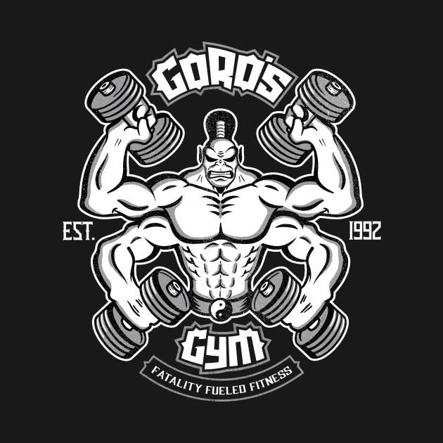 Goro's Gym - Mortal Kombat Gym Tee