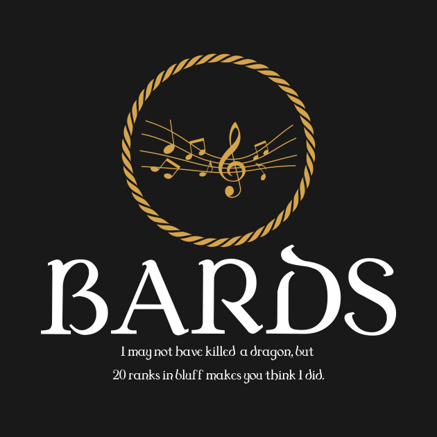 Bard Bards Dungeons and Dragons Inspired - D&D