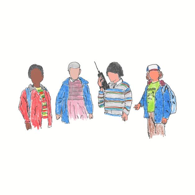 Stranger Things - the Friends
