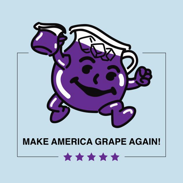 "Ten ""Make America Blank Again"" Phrases That Are Way Better ... Purple Kool Aid Man"
