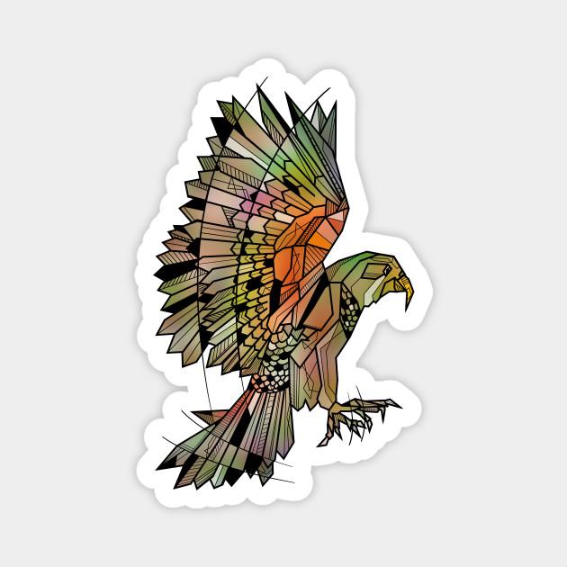Kea Flying Bird Parrot Magnet Teepublic Au