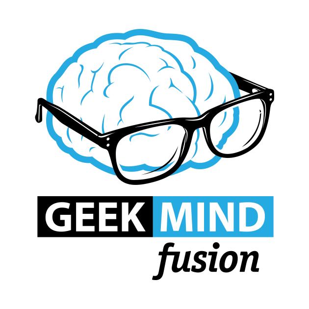 Geek Mind Fusion Brain Logo v 2.0