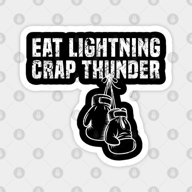 Rocky Movie Mick EAT LIGHTNING CRAP THUNDER Sweatshirt Hoodie