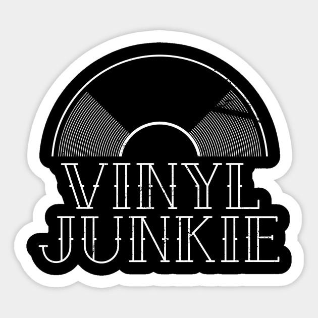 Vinyl Junkie Shirt | Simple DJ Gift