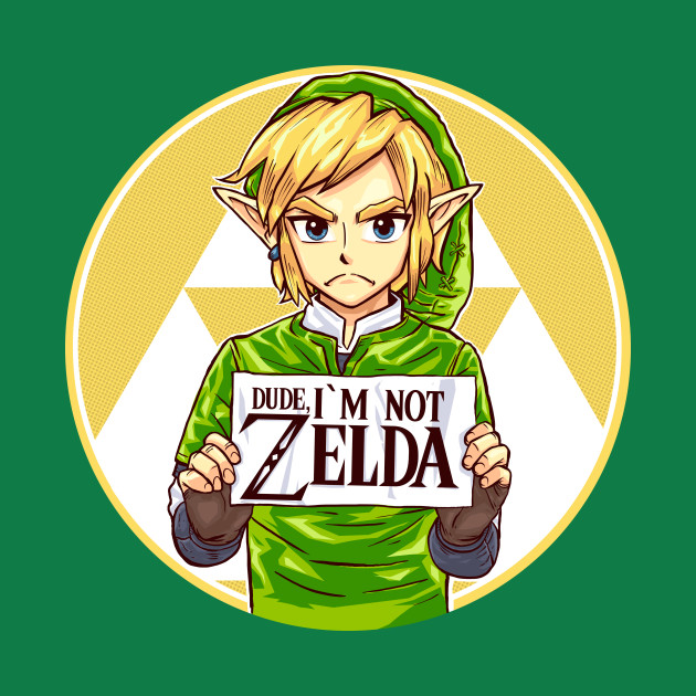DUDE, I'M NOT ZELDA!!