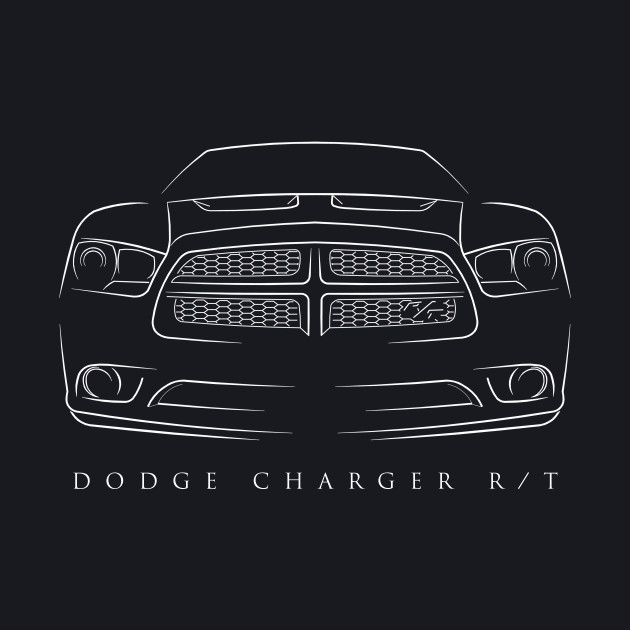 2013 Dodge Charger R/T - Stencil