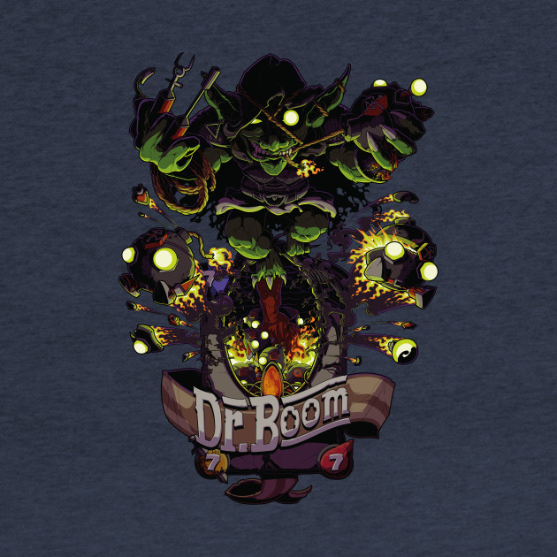 Unofficial Dr Boom Tribute Tee
