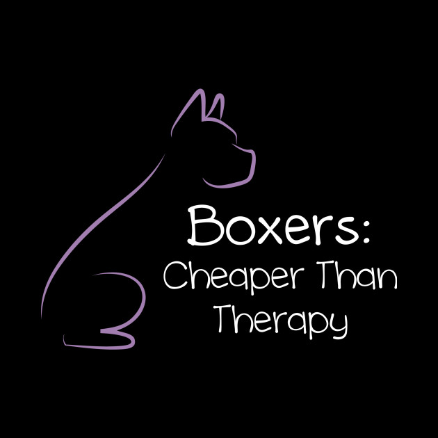 Boxers: Cheaper Than Therapy