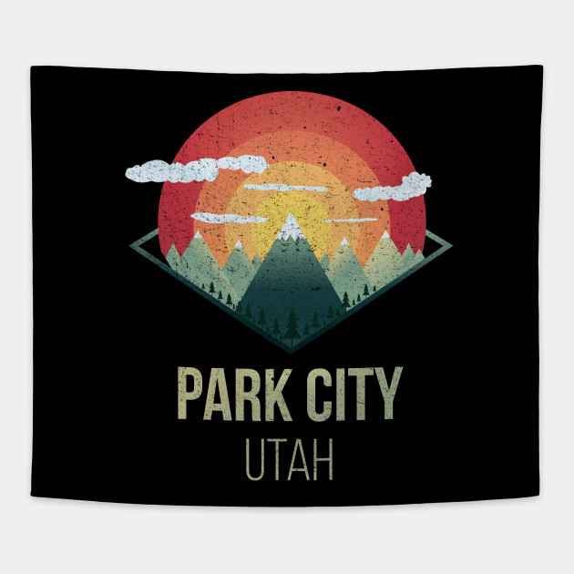 Snowboard park city utah outdoor mountain USA Ski Winter Gift