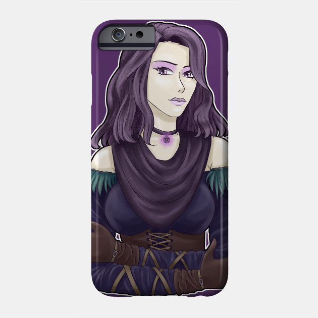Yennefer The Witcher iphone case