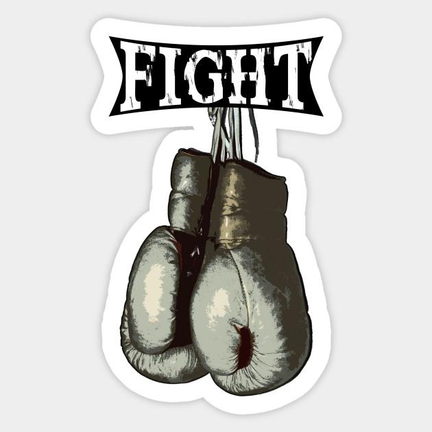 Vintage Boxing Gloves - Fight