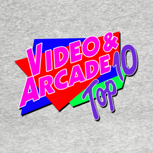 Video & Arcade top 10 t-shirts